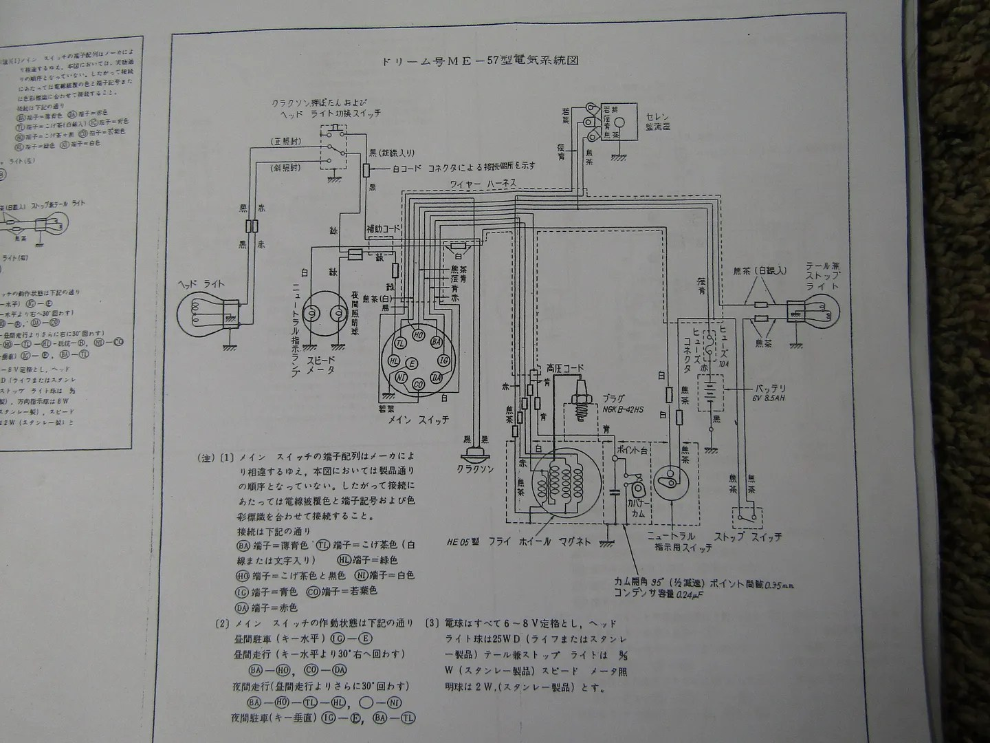 Help with translation please, Japanese wiring schematic - AR15COM