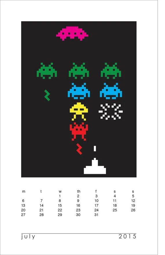 printable customizable calendar 2015