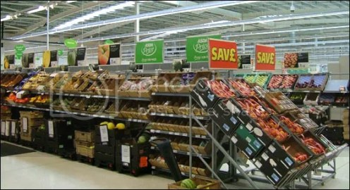 produk di supermarket