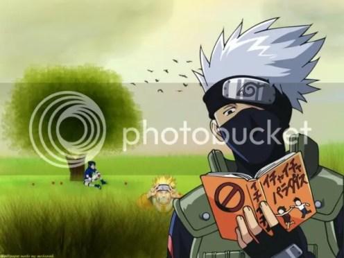 Kakashi Naruto - Memelihara Hobi Membaca, Buat Apa Sih?
