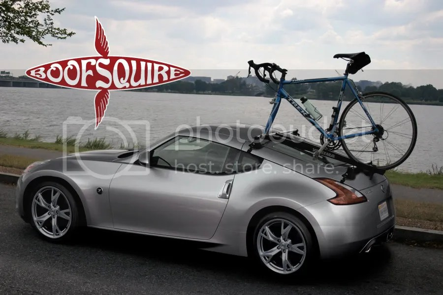 How To Carry A Bicycle Bike Rack Question Nissan 370z Forum