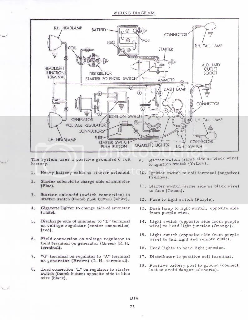 allis chalmers wd45 12 volt wiring diagram