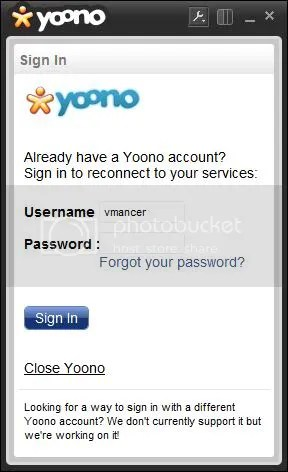 Yoono Desktop Features-support-multi network-vmancer