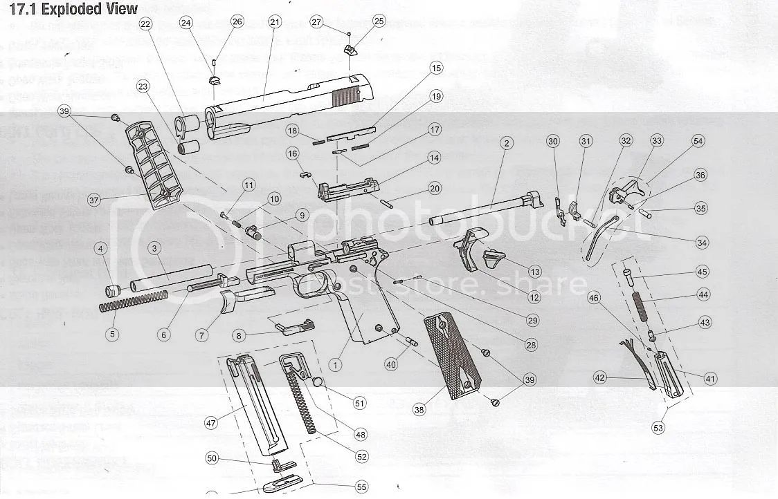 Walther P22 Auto Electrical Wiring Diagram