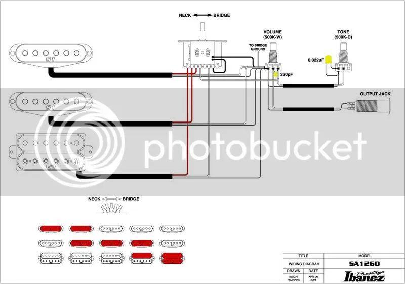 wiring diagram ibanez