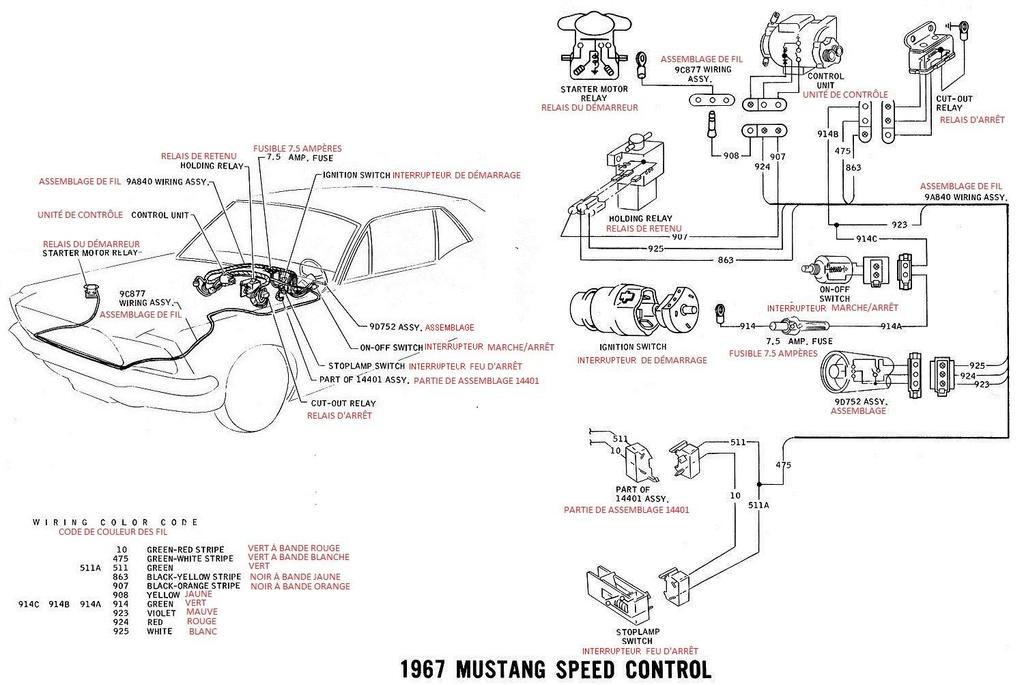 ford coil schema cablage