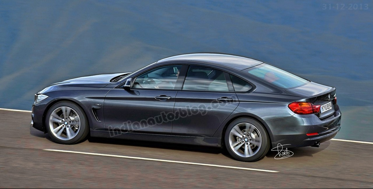 Comparison bmw 420d gran coupe versus 330d saloon autocar - Bmw 4 Series Gran Coupe Revealed In Patent Drawings Page 9