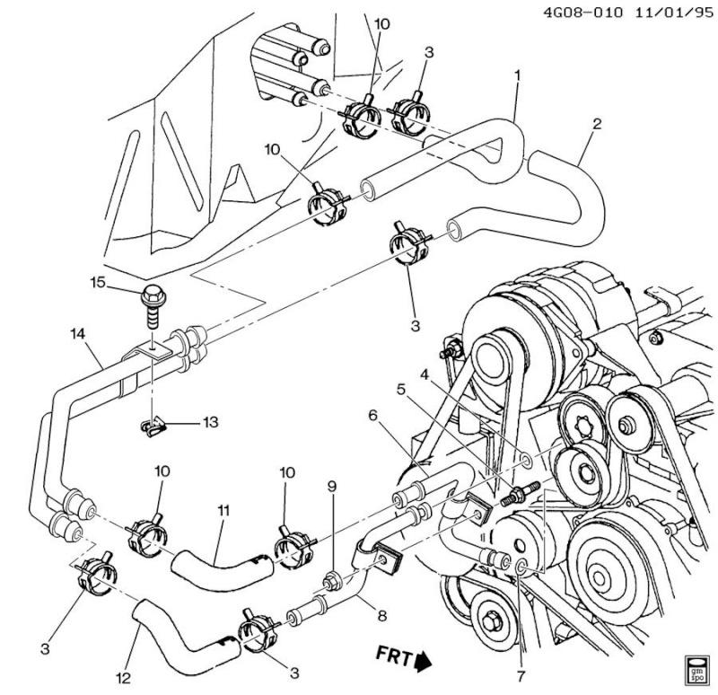 chevy impala 3800 v6 engine diagram