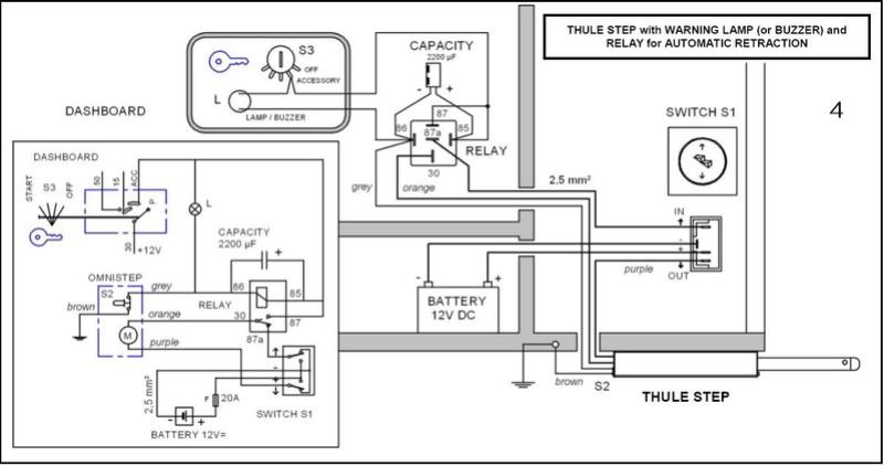 thule electric step wiring diagram