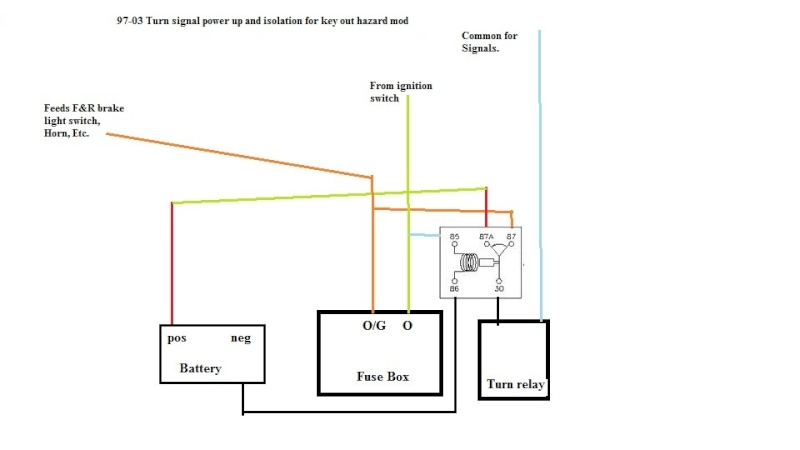 wiring diagram as well latching relay circuit diagram on 87a relay