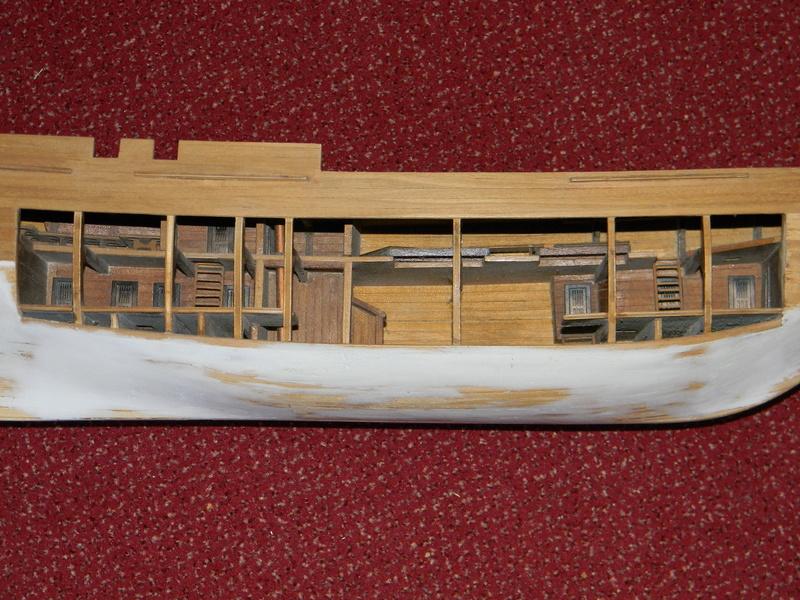 Holz: HMS Bounty von delPrado 1:48 von 1999