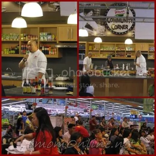 Cooking with SM Master Chef Bruce Lim event