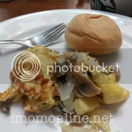 cheesy mushroom basil omelet recipe
