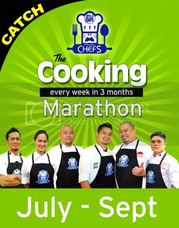 Cooking with SM Master Chef Bruce Lim