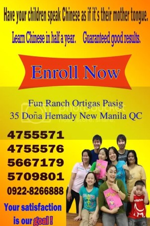Dash chinese language school Metro Manila