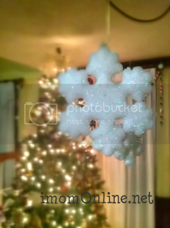 christmas decor ideas snowflake