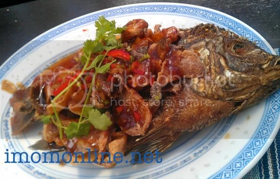 Tilapia in tamarind sauce Happy Tummy Ketchup Food Community