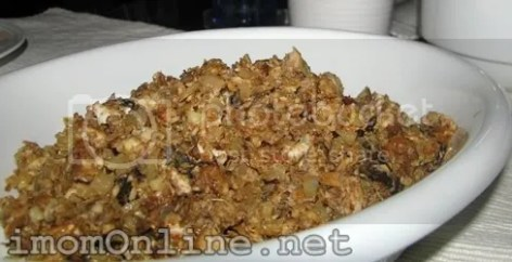 Healthy homemade bangus sisig recipe
