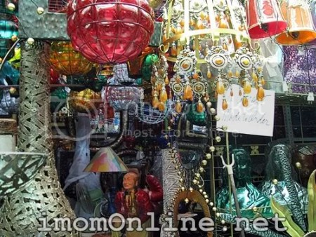 Glass and wrought iron art dapitan street market