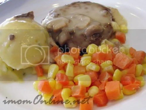 Red Ribbon Salisbury Steak