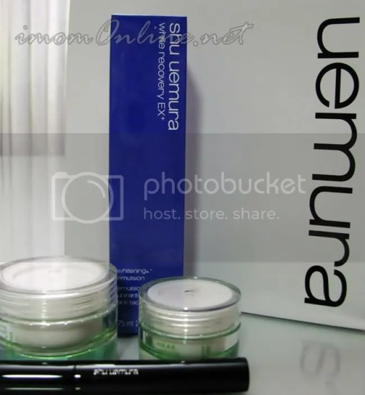 shu uemura beauty loot white recovery EX