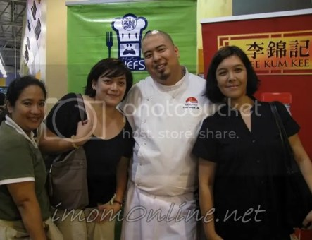 mommy bloggers withChef Bruce Lim