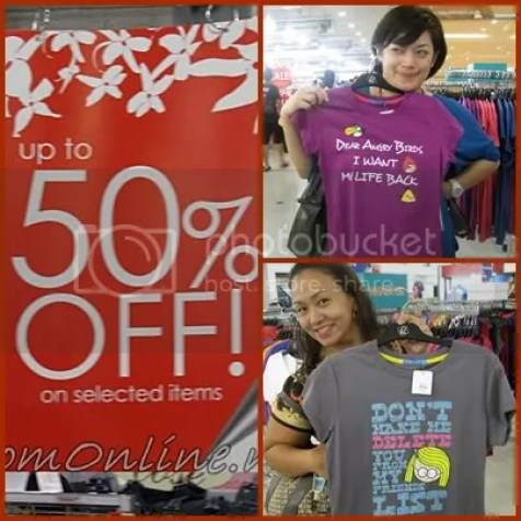 Robinsons Red Hot Sale department store