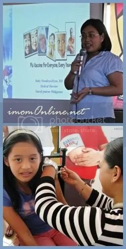 Top: Dr. Ruby Mendoza-Dizon; Bottom: iPatch trying hard not to cry, hehe