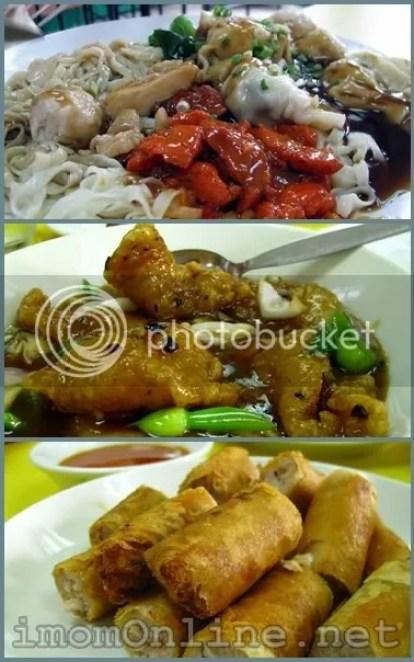 Lam Tin Tea House noodle feast tausi fish fillet lumpiang shanghai