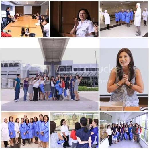 Amherst Laboratories Unilab mommy bloggers visit Patricia hizon