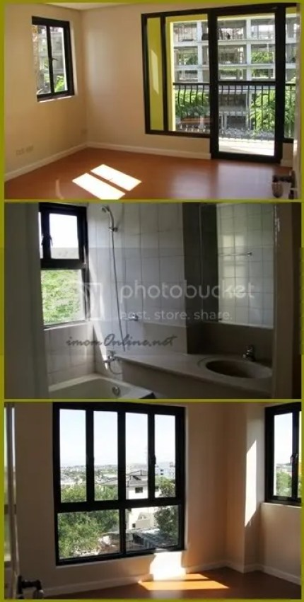 McKinley Hills Garden Villas master bedroom