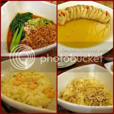 Shi Lin Restaurant sesame peanut sauce noodles drunken chicken fried rice
