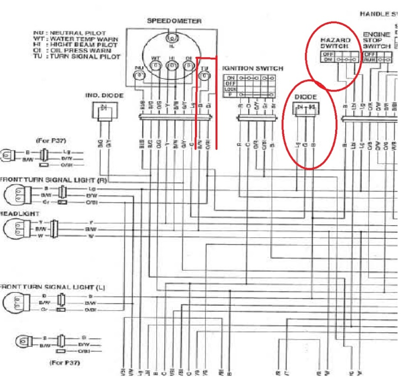 suzuki intruder 800 wiring diagram