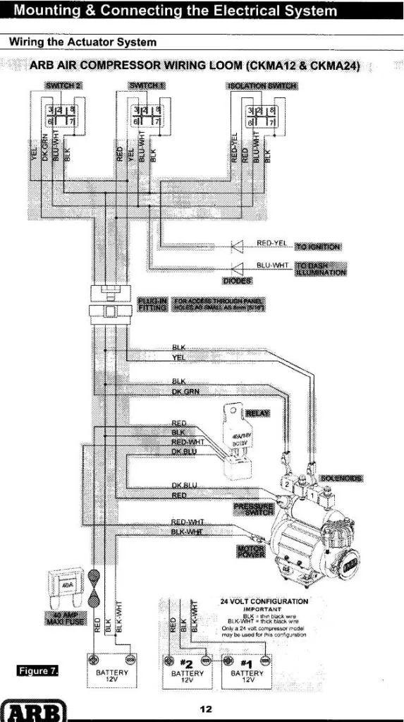 arb compressor harness diagram