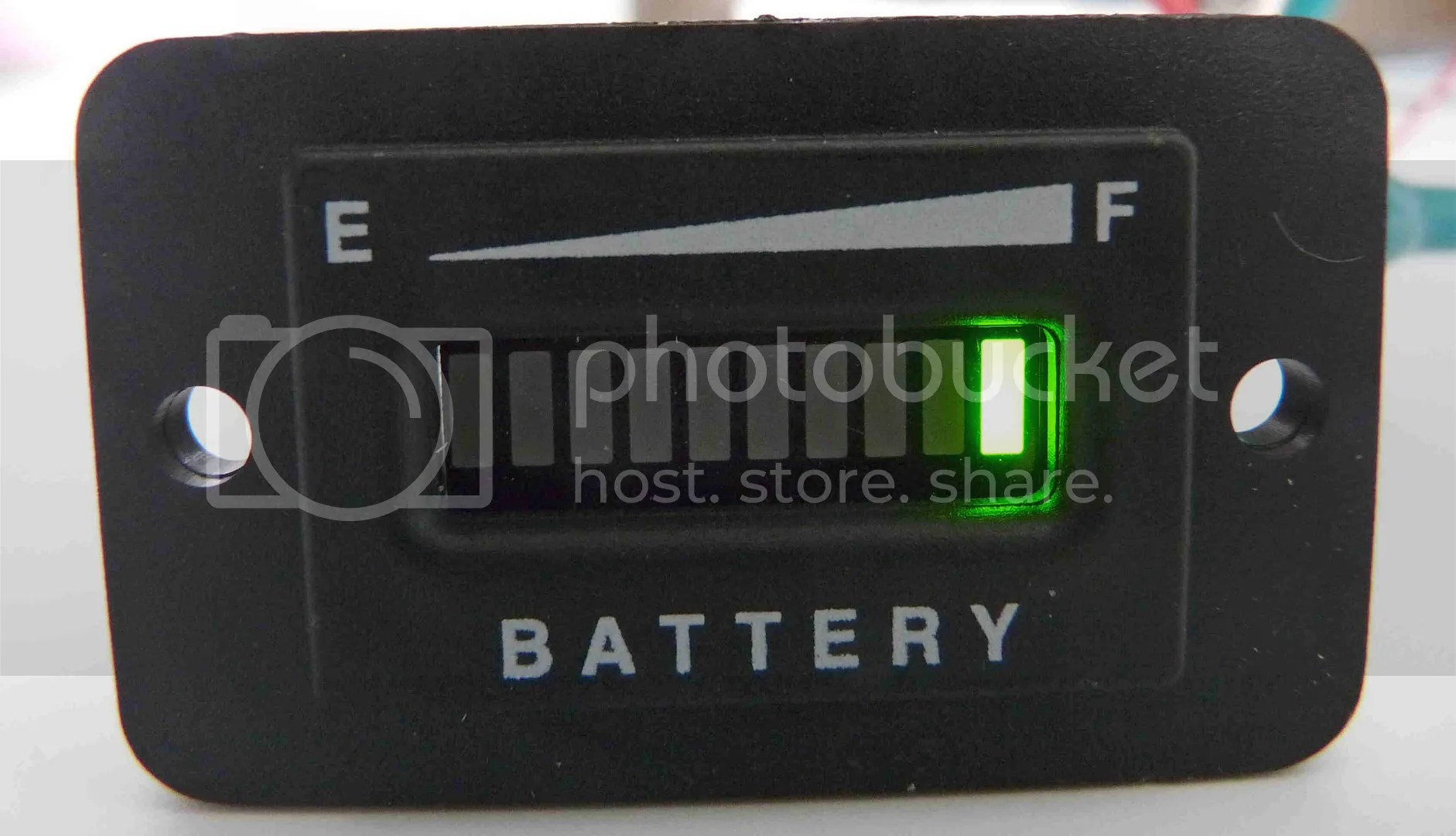 PRO48FRC ™ 48 Volt EZGO Club Car Yamaha Golf Cart Battery Indicator