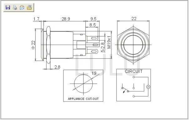 Momentary Switch Latching Relay Circuit Diagram - 185