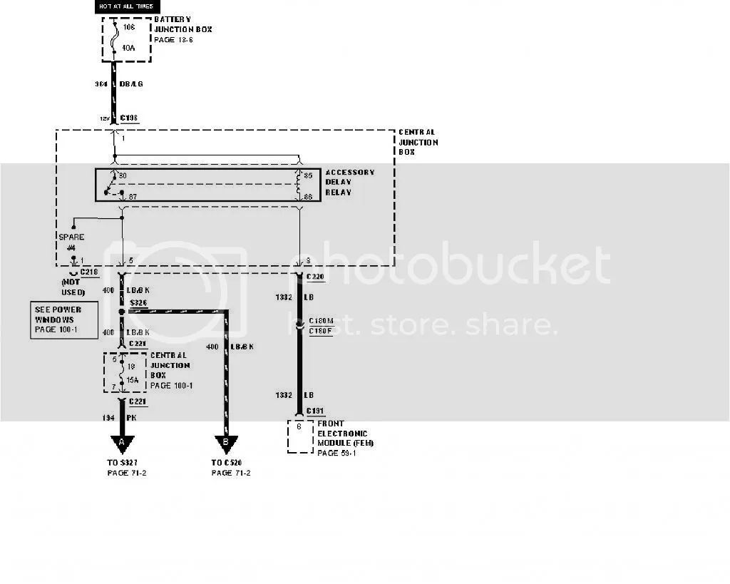 2001 ford windstar fuse location