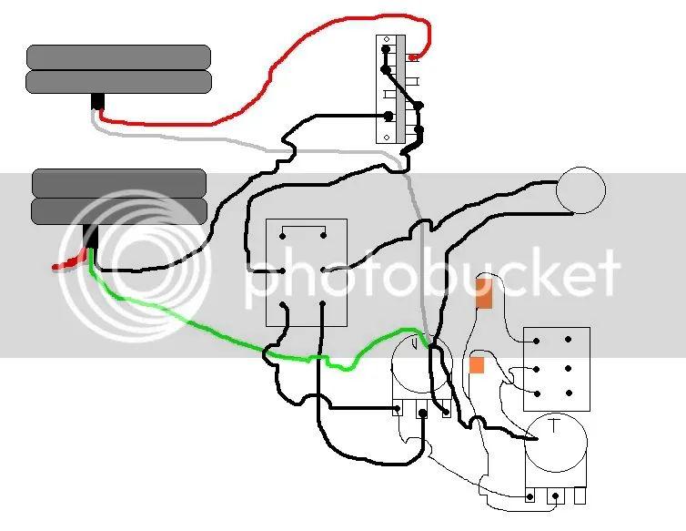 guitar high p filter wiring