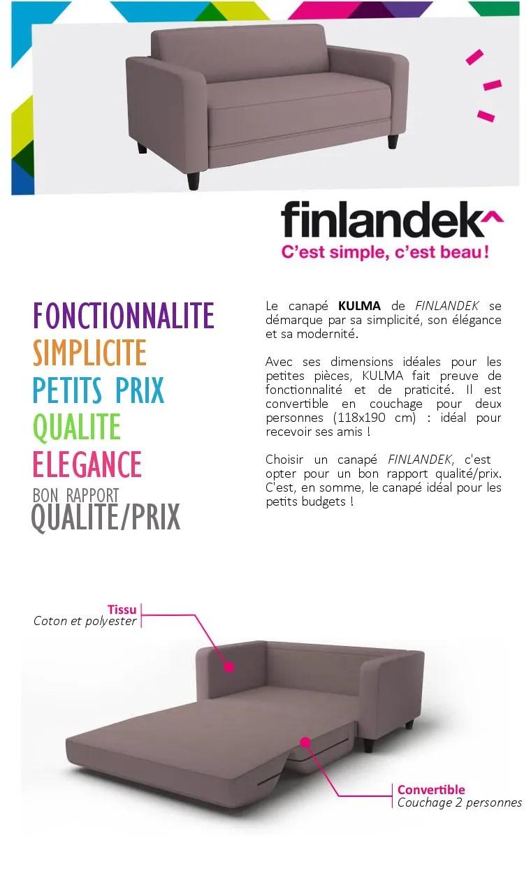 Canapé Finlandek Avis   Canapé D Angle Convertible Conforama ...