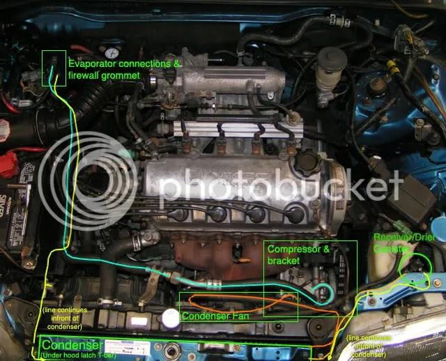 91 Crx Engine Diagram Wiring Diagrams