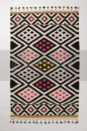 The Estate of Things chooses Dhurrie Rug from Anthropologie
