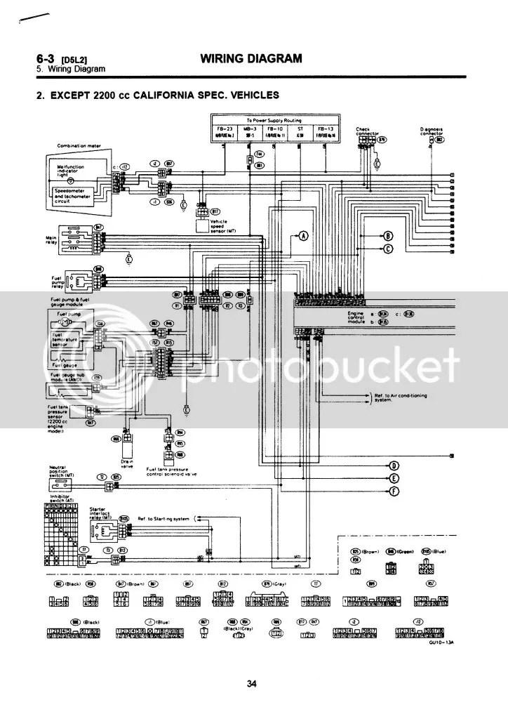 Subaru Ignition Wiring Diagram Wiring Diagram 2019