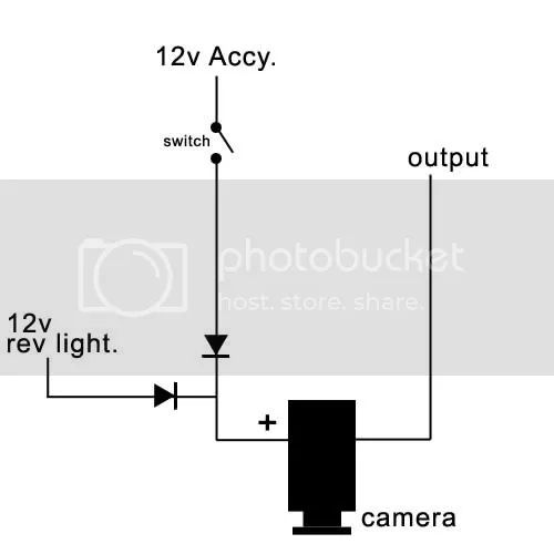 backup camera wiring diagram look right