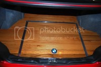 Hardwood Trunk Floor E36 M3/4