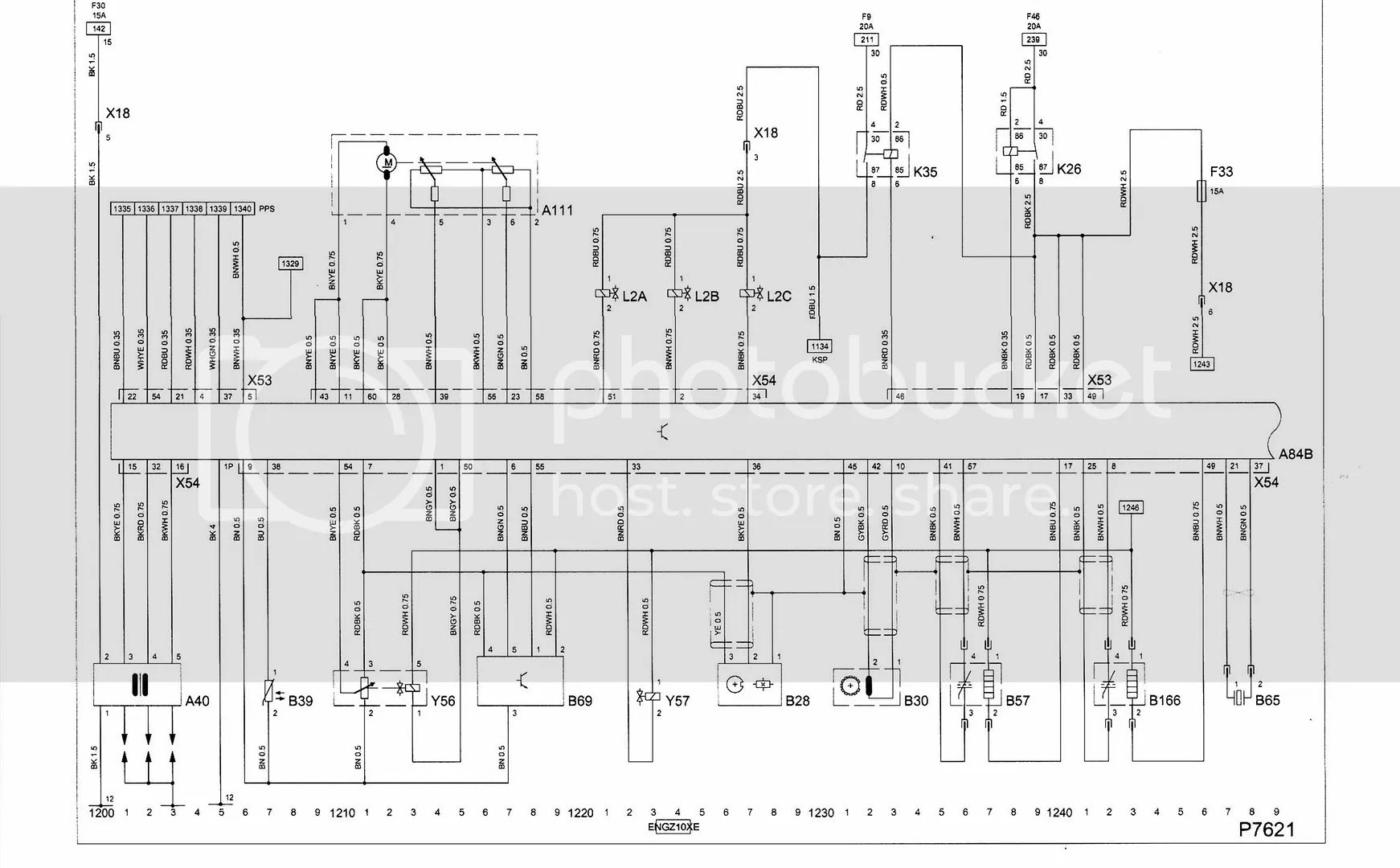 engine wiring diagram for opel corsa