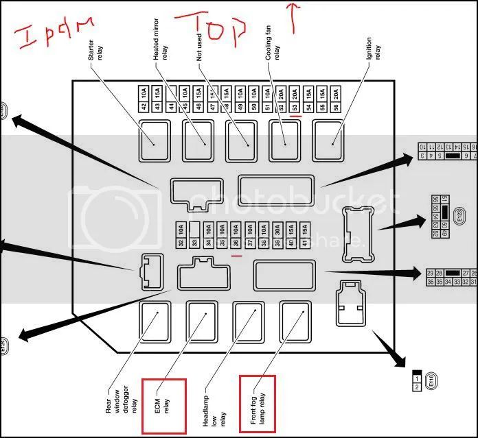 2013 nissan sentra sv fuse box diagram