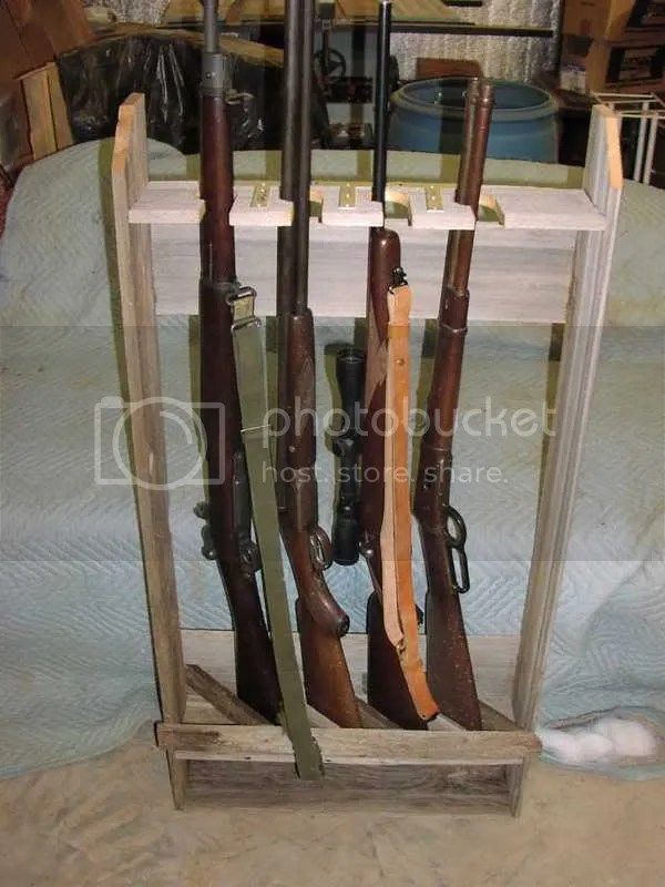 Rifle Rack Idea