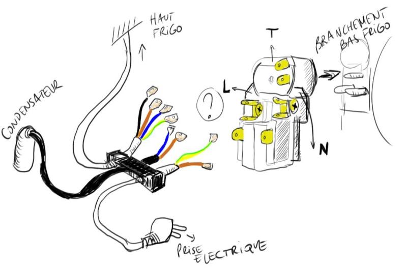 danfoss compressor schema cablage