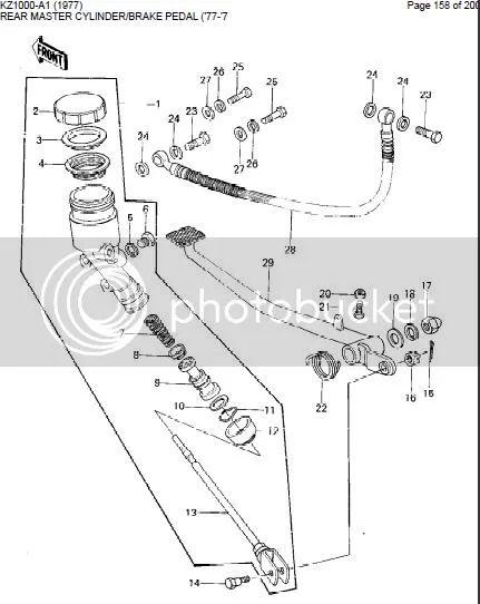 pursuit kz1000 wiring diagram lights