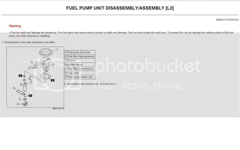 MPVClub  View topic - Walkthrough for Fuel Pump Removal